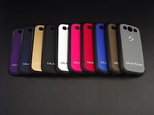 Dual Tone Soft Side Rubber Hard Back Cover Case For Samsung Galaxy S3 Neo i9300i