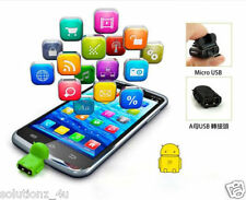 Android Robot Micro USB Host OTG Adapter Cable for Samsung Galaxy S3 S4 Note2