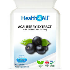 Pure Acai Berry 2400mg Capsules EXTREME FAT BURNER detox WEIGHT LOSS slimming