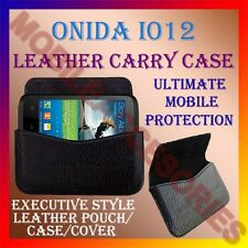 ACM-HORIZONTAL LEATHER CARRY CASE for ONIDA I012 MOBILE COVER POUCH HOLDER NEW