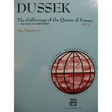 DUSSEK J. L. The Sufferings of the Queen of France Piano ou Clavecin  Partition
