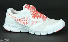 NEW Nike Flex Experience Trainers RN 3 MSL Womens Running Shoes - White & Orange