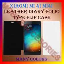 ACM-LEATHER DIARY FOLIO FLIP CASE For XIAOMI Mi 4i MI4i MOBILE FRONT/BACK COVER
