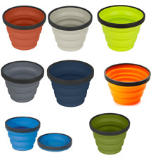 Sea to Summit X Mug -Collapsible, folding, compact and light silicone picnic cup