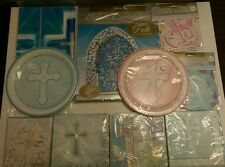 Choose Religious/First 1st Communion Party Serviettes/Banner/Invitations/Plates