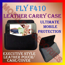 ACM-HORIZONTAL LEATHER CARRY CASE for FLY F410 MOBILE COVER POUCH HOLDER PROTECT