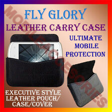 ACM-HORIZONTAL LEATHER CARRY CASE for FLY GLORY  MOBILE COVER POUCH HOLDER NEW