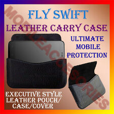 ACM-HORIZONTAL LEATHER CARRY CASE for FLY SWIFT MOBILE COVER POUCH HOLDER LATEST