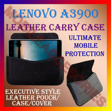 ACM-HORIZONTAL LEATHER CARRY CASE for LENOVO A3900 MOBILE COVER POUCH HOLDER