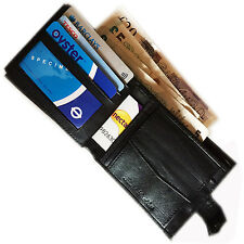 Luxury soft real leather coins bag pocket purse quality wallet credit card money