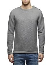 Jack & Jones Pullover Lange O-Neck 12070153 grau