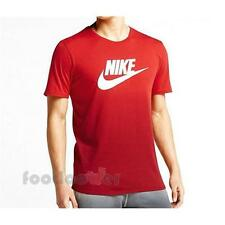 Nike Tee Dip Dye Futura 666541 657 University Red Shirt uomo Moda Street IT