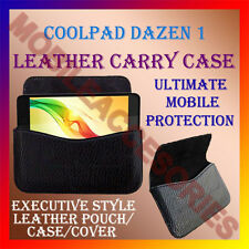ACM-HORIZONTAL LEATHER CARRY CASE for COOLPAD DAZEN 1 MOBILE POUCH COVER PROTECT