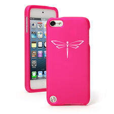 For Apple iPod Touch 4th 5th 6th Rubber Hard Case Cover Dragonfly