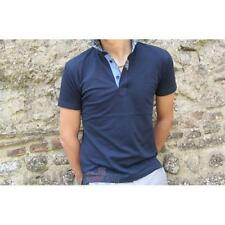 Polo 312 Bradano 97% Cotone Fashion Uomo Navy Made In Italy Moda Casual IT