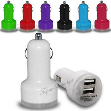 CE Approved Universal Dual Port Car USB Charger Socket For iPhone,Samsung,MP3GPS