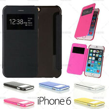 ETUI COQUE HOUSSE FLIP COVER VIEW IPHONE 6 (4,7) + FILM OFFERT