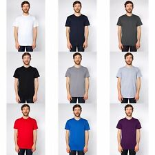 American Apparel Mens/Womens Plain Short Sleeve Cotton T-Shirt/Tee
