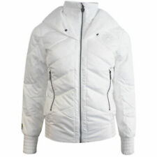 Puma Ferrari Down Filled Full Zip Womens White Lightweight Jacket 560968 02 PO