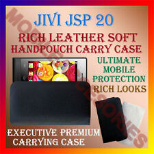 ACM-RICH LEATHER SOFT CASE for JIVI JSP 20 MOBILE HANDPOUCH COVER POUCH HOLDER