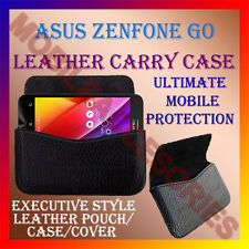 ACM-HORIZONTAL LEATHER CARRY CASE for ASUS ZENFONE GO MOBILE POUCH COVER HOLDER