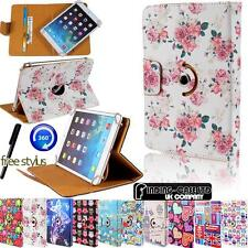 Folio Rotating 360 Stand Wallet Card Leather Case Cover For Various PIPO Tablets