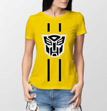 Ladies Bumble Bee Transformers T-shirt