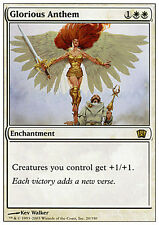 Inno Glorioso - Glorious Anthem MTG MAGIC 8E 8th Edition Eng/Ita