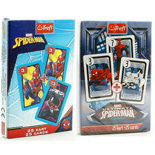 Spider Man Playing Cards Black Peter and Domino Cards. Karty do gry dla dzieci.