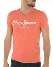 T SHIRT PEPE JEANS 500373 ROUGE CLAIR