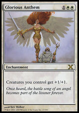 Inno Glorioso - Glorious Anthem MTG MAGIC 10E 10th Edition Eng/Ita