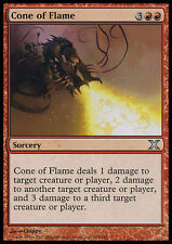 2x Cono di Fiamme - Cone of Flame MTG MAGIC 10E 10th Edition Eng/Ita