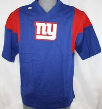 NEW Mens NFL Team Apparel New York NY GIANTS Patch Football Short Sleeve Shirt