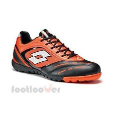 Scarpe Lotto Calcetto Stadio Potenza VI 700 TF R8194 Uomo Orange Black IT