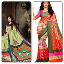 BHALAGPURI SILK SAREES- COMBO PACK OF TWO SAREES AT HEAVY DISCOUNT
