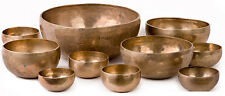 Tibetan Singing Bowls - Support for Meditation, Trance, Induction - Brass
