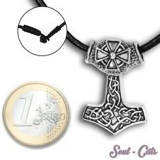 One real 925 Silver Thor hammer Pendant Mjölnir with or without chain Celtic