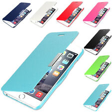 Flip Synthetic Leather Slim Magnetic Case Cover For iPhone 6 Plus (5.5 inch)