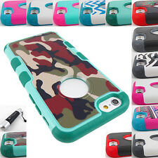 FOR APPLE IPHONE 5 5S 6 6 PLUS SHOCK PROOF TUFF MERGE HYBRID CASE COVER+STYLUS
