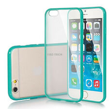 For Apple iPhone 6 6S Plus Ultra Thin Clear Transparent Hybrid Bumper Case