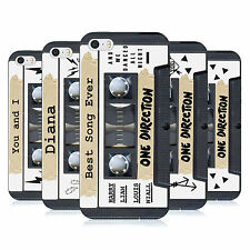 OFFICIAL 1D CASSETTES MIDNIGHT MEMORIES SOFT GEL CASE FOR APPLE iPHONE 5S