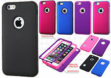 Apple iPhone 6 Plus 5.5 IMPACT Verge HYBRID Case Skin Phone Cover +Screen Guard