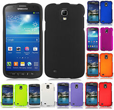 For Samsung Galaxy S4 ACTIVE i537 Rubberized HARD Case Snap On Phone Cover