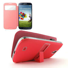 PU Leather Wallet Flip Case Cover w, Kickstand for  Samsung Galaxy S4