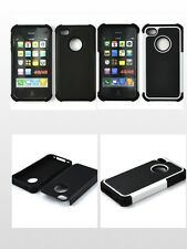 3IN1 ARMOR IMPACT TRIPLE LAYER CASE FOR APPLE IPHONE 4,4S 4G 4G - BRAN