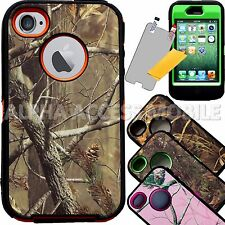 Rugged Hard Impact Hybrid Shockproof Camo Case Cover For Apple iPhone