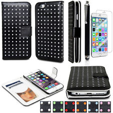 Leather Flip Magnetic Case Cover Credit Card Wallet Case For Apple iPhone 6 4.7