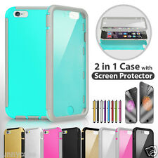 Clear Faceplate Dust Proof Hard Rugged Case Cover For Apple iPhone 5 5