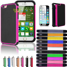 """For Apple iPhone 6 Plus (5.5"""") Impact Rubber Shockproof Hard Protect C"""