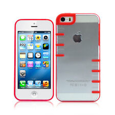 Ultra Thin Transparent Clear Hard TPU Cover Case For iPhone 5 5s